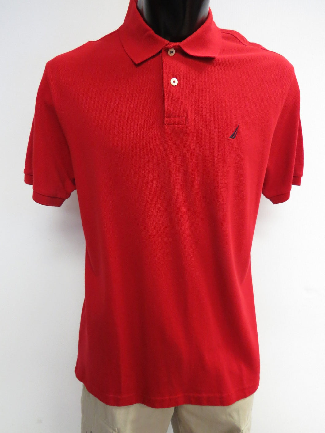 Nautica | K00809C | Polo T-Shirt | Nautica Red