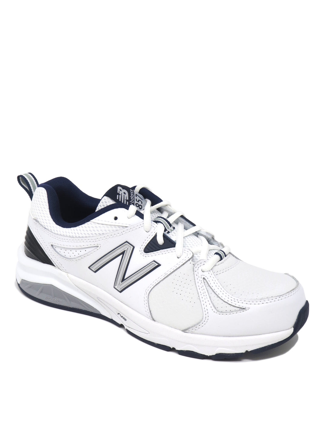 New Balance | MX857WN2 | Training Shoe | White/Navy