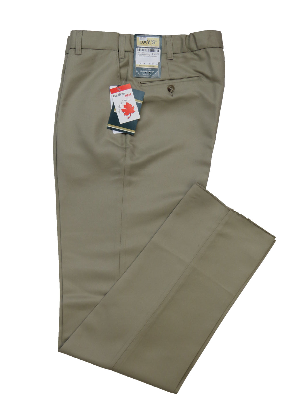 Day's | 765XF-13 | XBand Self-Adjusting Fit Pant | Beige