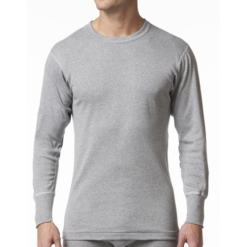 Stanfield's | 2513 | 100% Cotton | Long Sleeve Shirt | Heather Grey