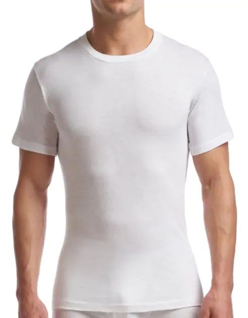 Stanfield's | 6769 | Cotton/Poly | 1 Pack Crew Neck | White