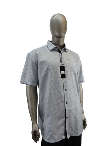 Black Ice | S9BIS4012 | Short Sleeve Shirt | Grey