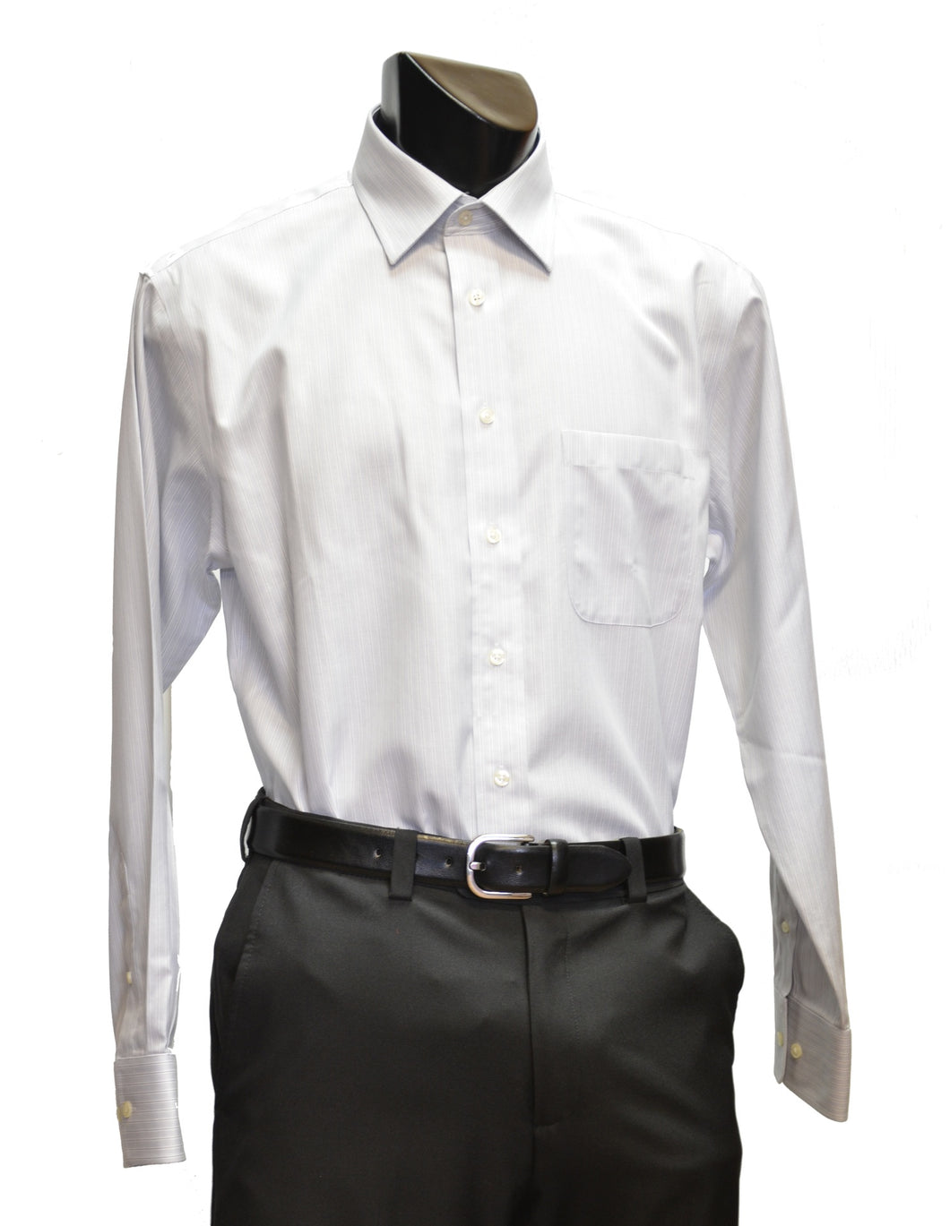 Leo Chevalier | 329175 | Dress Shirt | Silver