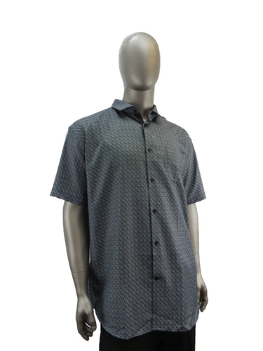 Black Ice | S9BIS4006 | Short Sleeve Shirt | Black