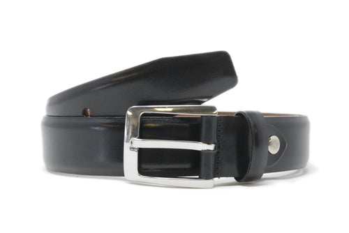 Bench Craft | Belt | 5058-1 | 35MM | Milled Calf |Nickel Free Buckle | Black