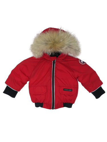 Canada Goose | 2320B | Baby Boy Elijah Jacket | Red