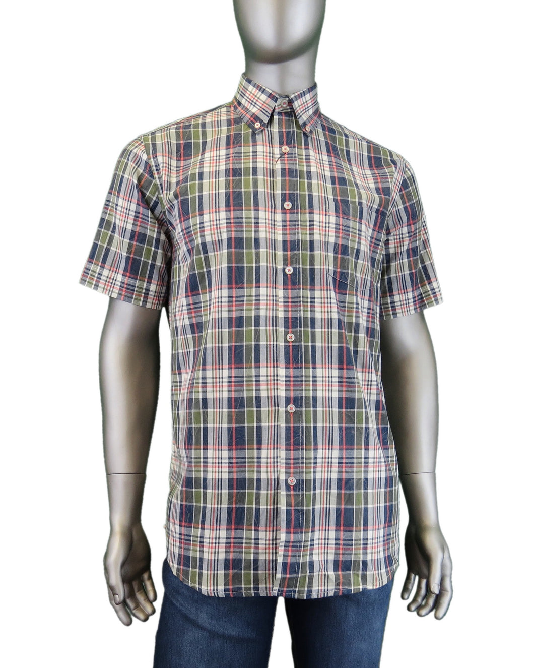 Viyella | 456310 | Short Sleeve Sport Shirt | Hunter Green