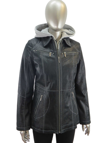 Cruze | 37609HC | Leather Jacket | Black