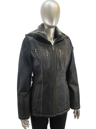 Cruze | 37612H | Leather Jacket | Black