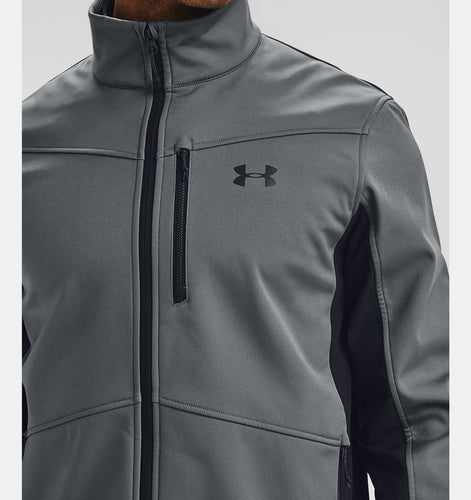 Under Armour | 1321438 | ColdGear® Infrared Shield Jacket | Pitch Grey / Black