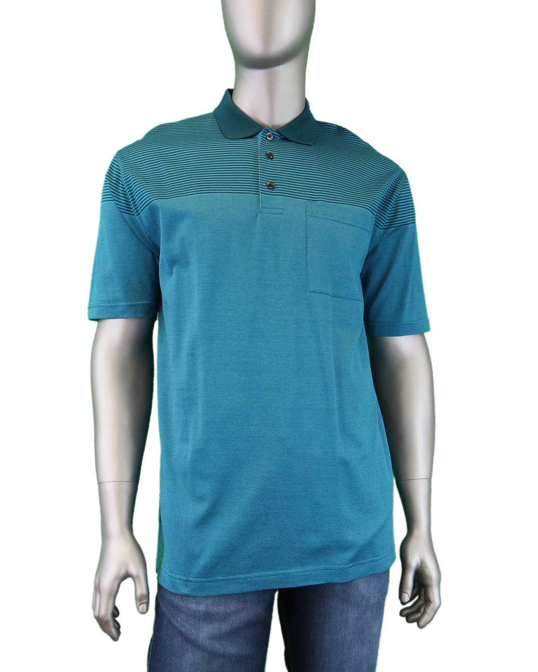 Leo Chevalier | 424534 | Polo T-Shirt | Teal
