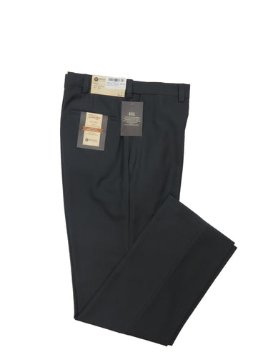 Haggar | IDC0500 | Eco Stria Slacks – Classic Fit | Medium Grey