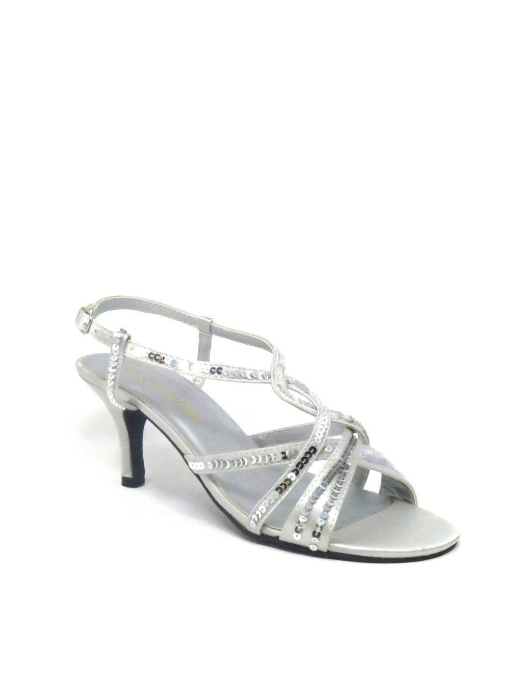 Annie | 121-62 | Yvonne Dress Sandal | Silver