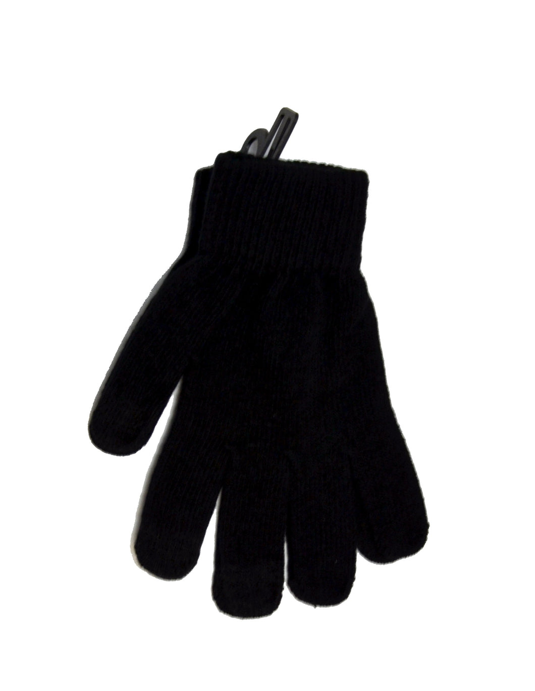 The Authentic T-Shirt Company | Touch Screen Glove | Black