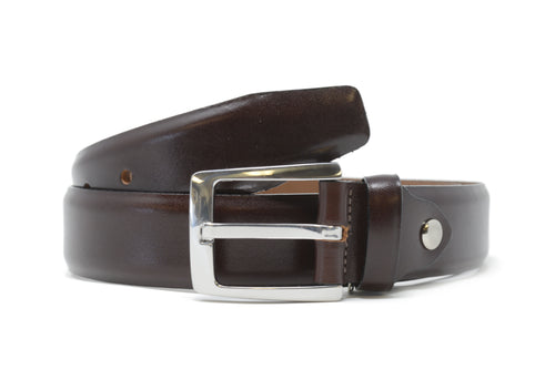 Bench Craft | Belt | 5058-4 | 35MM | Milled Calf |Nickel Free Buckle | Tan