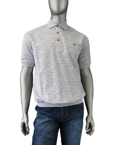 Cavori | 446522 | Dress Polo | Grey Heather