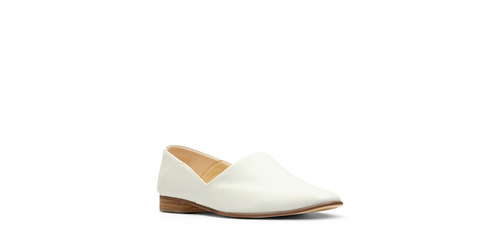 Clarks | 26132487 | Pure Tone White Leather