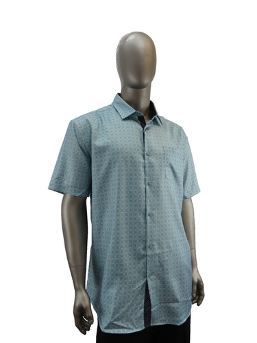 Black Ice | S9BIS4001 | Short Sleeve Shirts | Pistachio