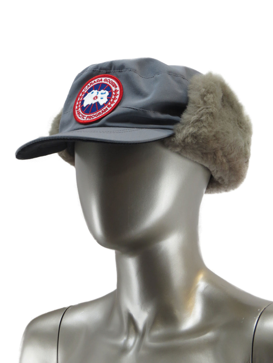 Canada Goose | 5179M | Classique Hat with Shearling | Mid Grey