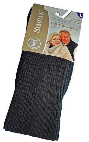 Simcan | Comfort Sock | Wool Blend | Charcoal