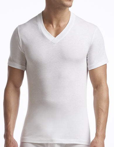 Stanfield's | 6756 | Cotton/Poly | 1 Pack V Neck | White