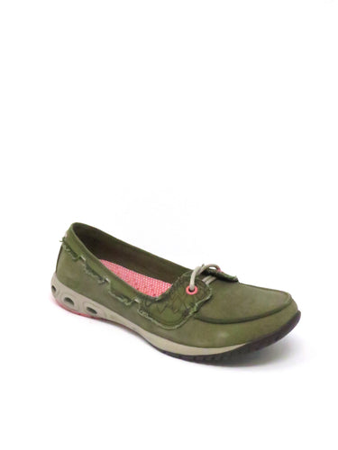 Columbia | BL4434-334 | Sunvent Boat | Olive Brown, Hot Coral