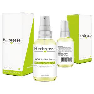 Herbreeze Herbal Oil | Deep Penetrating Formula