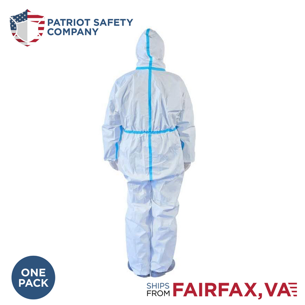 PPE Isolation Protective Suit with Hood