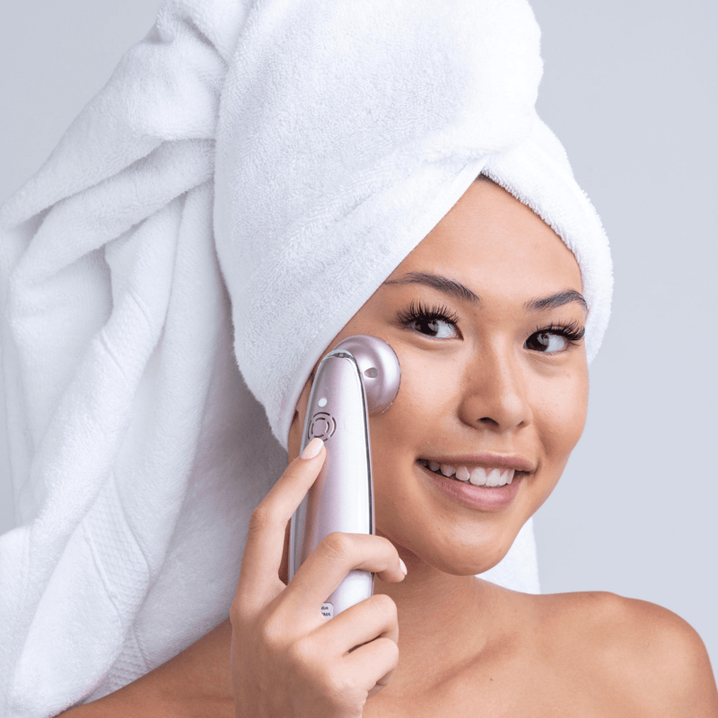 LED Light Anti-Wrinkle Wand With 4 Light Modes