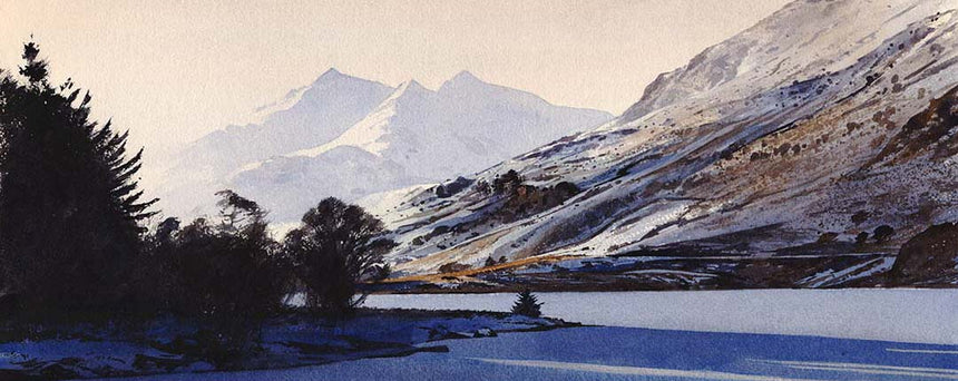 The Paintings that take me back to Snowdonia