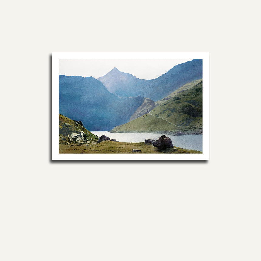 Print only - Snowdon from Llydaw.
