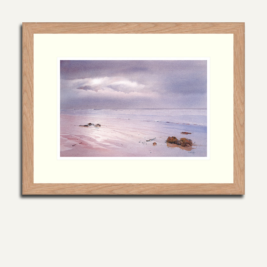 Framed - Wet sands.