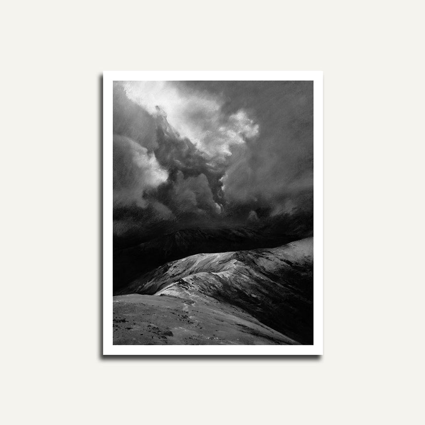 Print only, Light on the Bwlch.