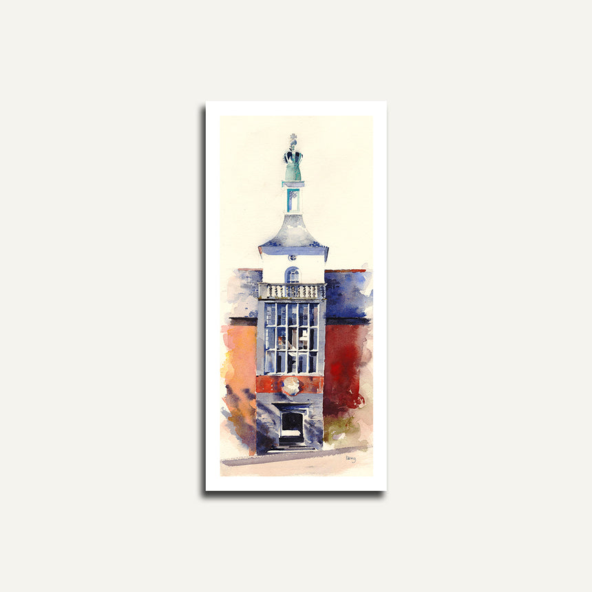 Print only - Townhall, Portmeirion.