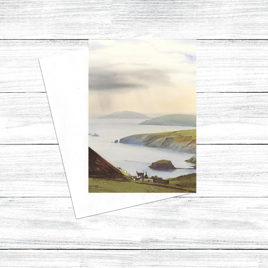 Enlli (Bardsey) from Rhiw (Pack of 5)