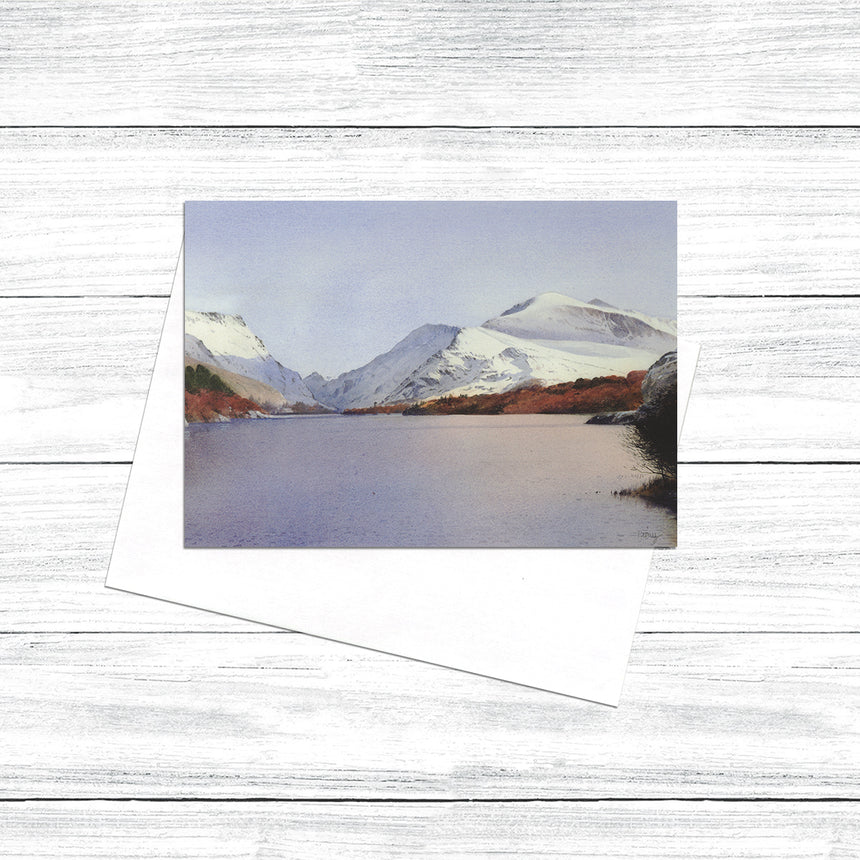 Snowdon from Penllyn. Llanberis (Pack of 5)