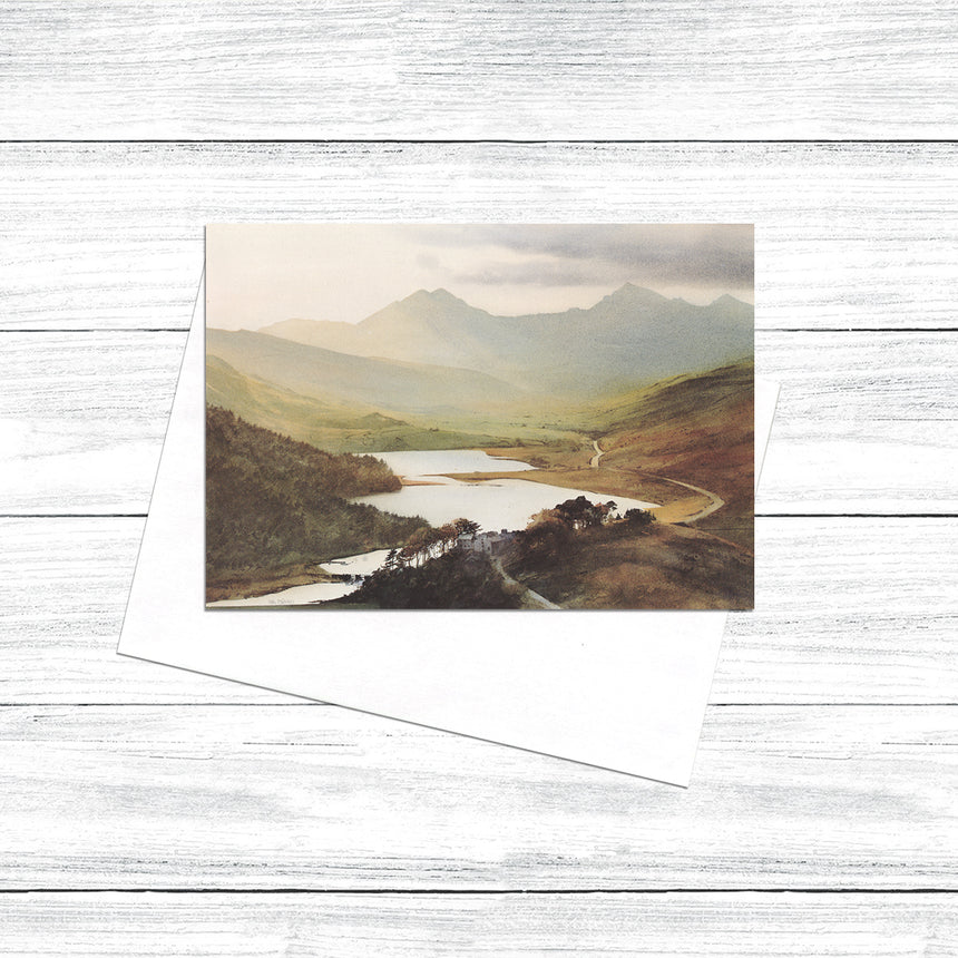 Snowdon from Capel Curig (Pack of 5)