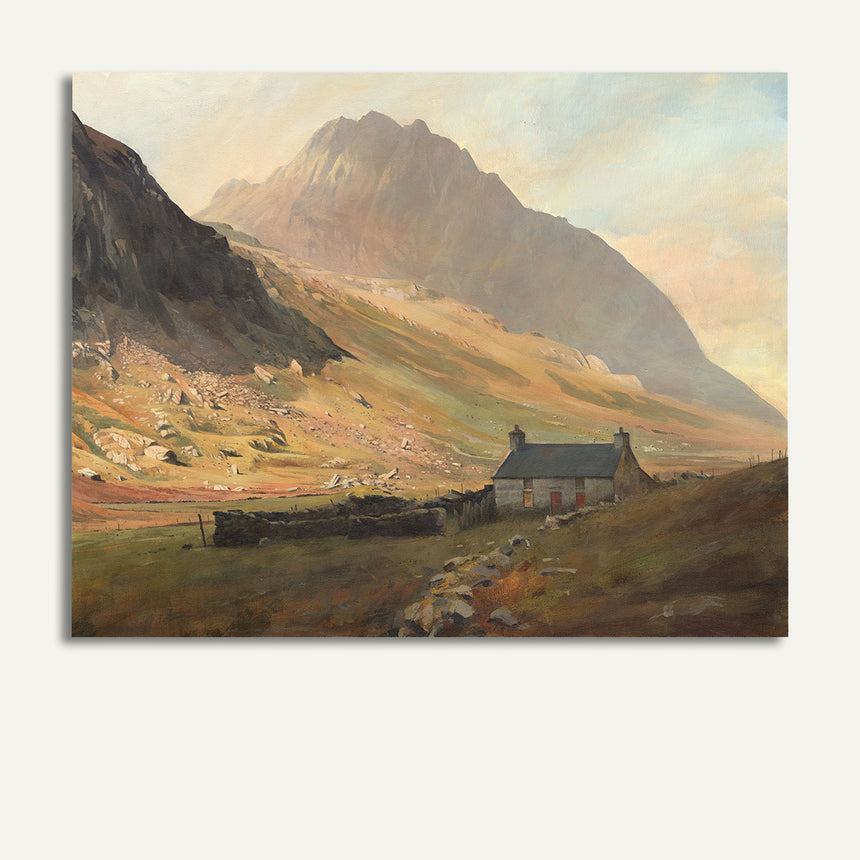 Cottage beneath Tryfan
