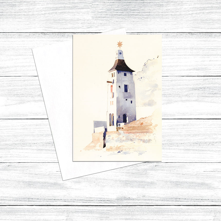 The Watch Tower, Portmeirion (Pack of 5)