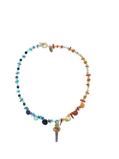 Multi Colored Ten Thousand Villages Necklace