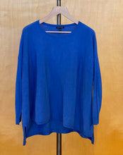 Load image into Gallery viewer, Blue Eileen Fisher Sweater, M
