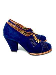 Royal Blue Miss L Fire Oxford, 6.5