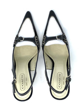 Load image into Gallery viewer, Black & White Coach Heels, 7