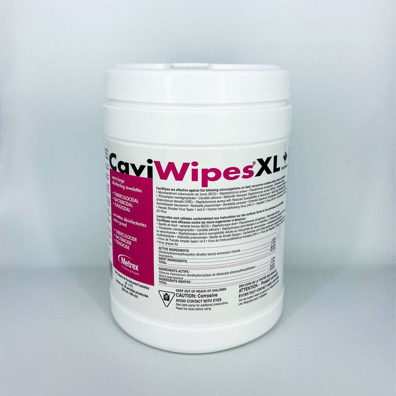 Cavi Wipes XL Disinfectant Wipes 65/cannister - Better Health Medical Shop