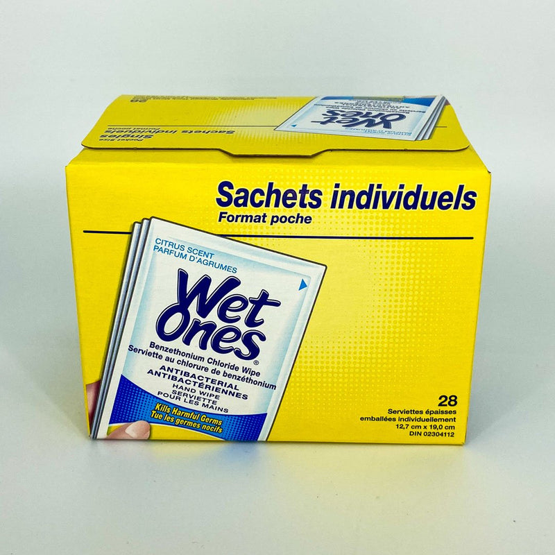 Wet Ones Antibacterial Citrus Scent Hand And Face Wipes - Better Health Medical Shop