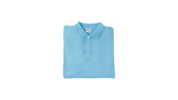 Long sleeve polo - blue