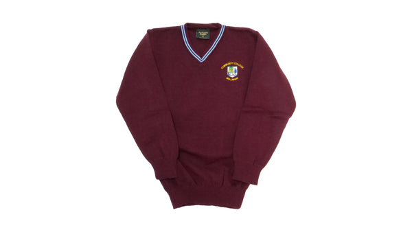 Community College Jumper Maroon