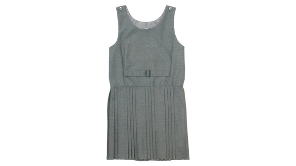 Grey Pinafore - All Round Pleat