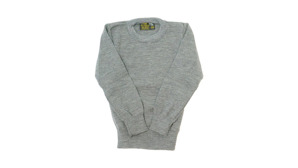 Grey Round Neck Jumper