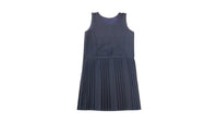 Navy Pinafore - All Round Pleat